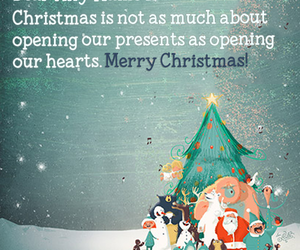 short christmas message image