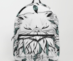art, school, and backpack image