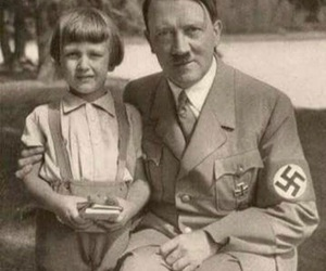 hitler and black and white image