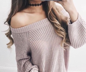 choker, fashion, and clothes image