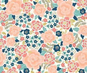 floral, pattern, and design image