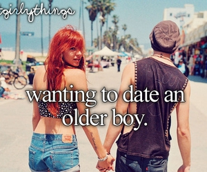 boy, date, and couple image