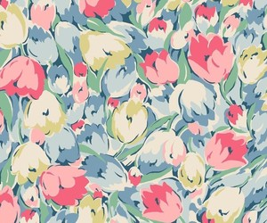design, floral, and pattern image