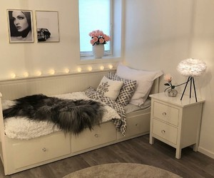 bedroom, house, and ikea image