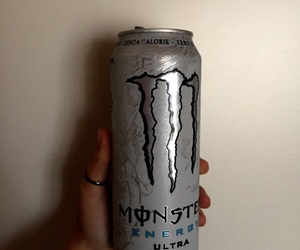 can, monster, and drink image