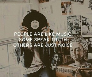 music, noise, and quotes image