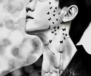 exo, fan art, and baekhyun image