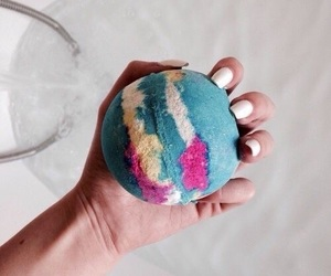 lush, bath, and nails image