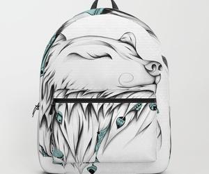 animal, art, and backpack image