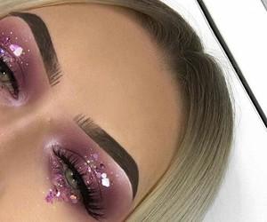 eye make up, maquillaje, and eyes image