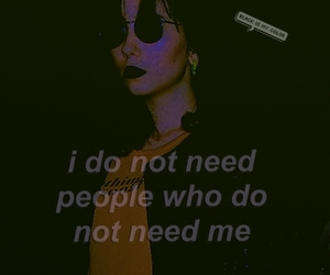 blackhair, me, and quote image