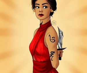 art, awesome, and isabelle lightwood image