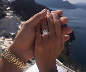 couple and ring image