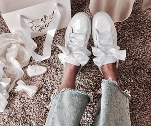 fashion, shoes, and girl image