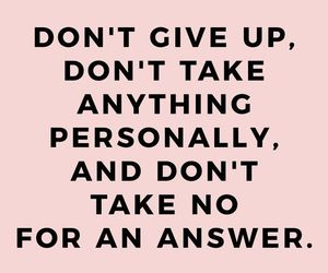 pink, quotes, and girlboss image