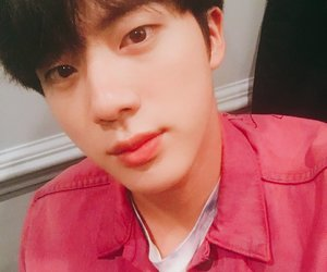 jin, photo, and bts image