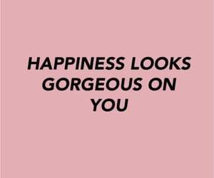 quotes, happiness, and pink image
