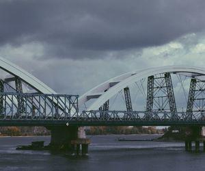 beautiful, bridge, and cloudy image