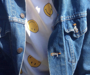 grunge, smile, and tumblr image