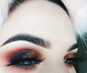aesthetic, makeup, and smokey eyes image