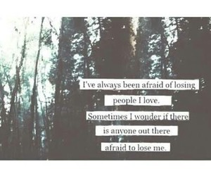 quote, afraid, and life image