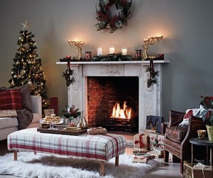 christmas, cozy, and decoration image