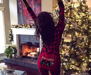 shay mitchell, christmas, and holiday image