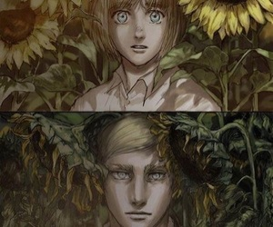 snk, aot, and anime image