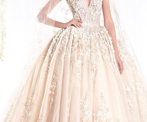 bridal dresses, couture wedding gowns, and ziad nakad 2018 image