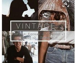 vsco, filter, and vintage image