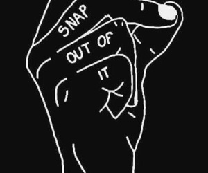quotes, black, and art image