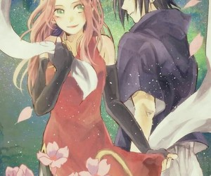 naruto, anime, and couple image