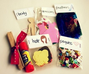 creative gift idea, paperdoll kit, and diy gift for kids image