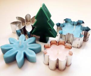 diy gift idea, diy candle, and diy christmas candles image