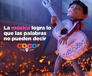 music, coco, and words image