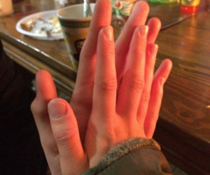 ask, couples, and hands image