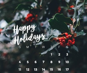 december, holidays, and wallpaper image