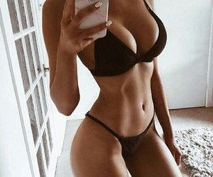 body, girl, and fitness image