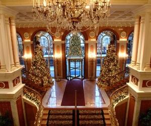 christmas, luxury, and beautiful image