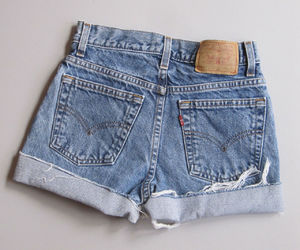 cut offs, ebay, and levi's image
