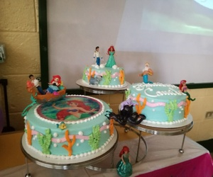 ariel, delicious, and kids image