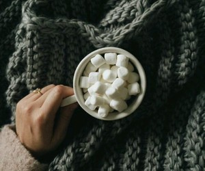 marshmallow and coffee image