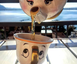 beautiful, disney, and tea image