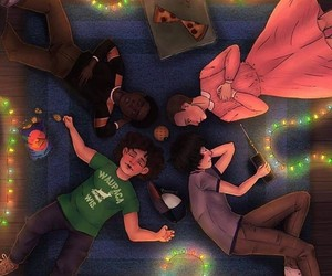 stranger things, eleven, and fanart image