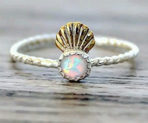 accessories, ring, and mermaid image