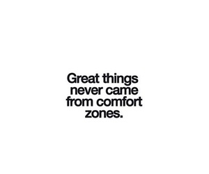 comfort zone, let go, and live image