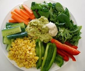 healthy, food, and vegan image