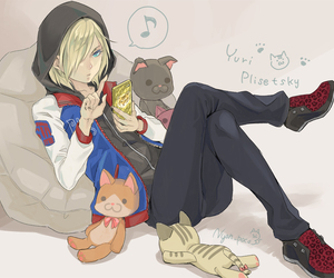 yuri on ice and yuri plisetsky image