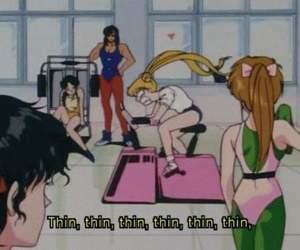 thin, sailor moon, and anime image