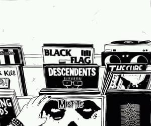 misfits, black flag, and punk image